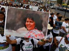 Justiça hondurenha condena assassino de ativista Berta Cáceres