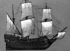 Hoje na História: 1620 - Peregrinos chegam ao Novo Mundo a bordo do Mayflower