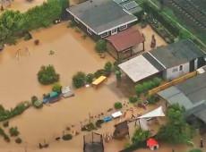 Enchentes na Alemanha deixam mortos e desaparecidos