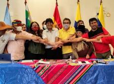 Impulsionada por Evo Morales, Runasur terá cooperação de rede de comunicadores latino-americanos