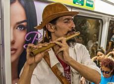 Para Fávio Bolsonaro, artistas de rua são ameaça ao bem estar e segurança pública