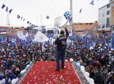 Estávamos numa ditadura e agora estamos voltando a uma democracia, diz Arce
