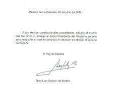Aos 76 anos, Rei Juan Carlos da Espanha abdica do trono em favor do filho Felipe