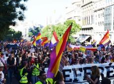 Madri realiza a maior manifestação a favor de referendo desde abdicação do rei