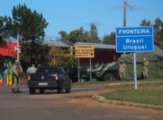 Uruguai anuncia medidas restritivas em cidade fronteiriça com Brasil para combater covid-19
