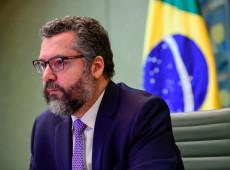 Chanceler brasileiro chama invasores do Capitólio dos EUA de 'cidadãos de bem'