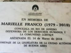 Buenos Aires: Estação de metrô terá placa em homenagem a Marielle Franco