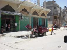 Gaza está em lockdown pelo covid-19, mas as bombas de Israel continuam a cair