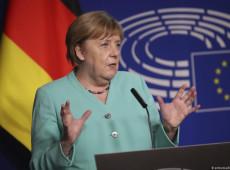 Pandemia expôs limites do 'negacionismo populista', diz Merkel