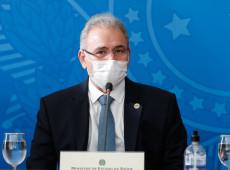 Ministro da Saúde apontou situação 'terrível' da covid-19 no Brasil, relata OMS