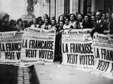Hoje na História: 1945 - Mulheres votam pela primeira vez para a Assembleia francesa