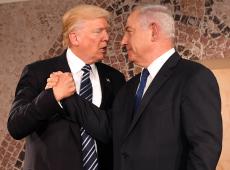 Trump propõe solução para Israel e Palestina, mas na pratica só um país será beneficiado