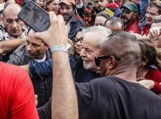 """""""El amor vencerá al odio"""", dice Lula en las primeras palabras al salir de prisión"""