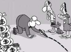 O círculo vicioso da concentração acelerada da riqueza no mundo contemporâneo
