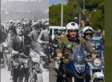 Ato fascista de Bolsonaro com motociclistas no Rio custou ao menos R$ 545 mil aos cofres públicos, aponta economista
