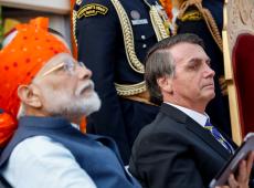 'Inspiração' para governo Bolsonaro, Índia vê economia desacelerar e reduz programas sociais