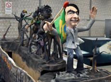 Bolsonaro é tema de carro alegórico na Alemanha