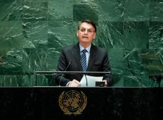 Bolsonaro fala para a extrema direita global