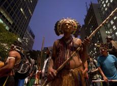 """""""Ser essa terra: São Paulo cidade indígena"""" no Memorial da Resistência"""