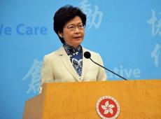 Covid-19: governadora de Hong Kong adia eleições legislativas em um ano
