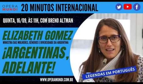 ELIZABETH GOMEZ ALCORTA: ¡ARGENTINAS, ADELANTE!  20Minutos Internacional