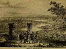 Hoje na História: 49 a.C. - Júlio Cesar atravessa o rio Rubicão