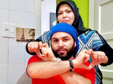 Refugiado sírio salva mãe da guerra, mas a perde para covid-19 no Brasil
