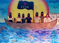 Conquista ao contrário: Zapatistas navegam rumo à Europa para denunciar males que capitalismo causa nos 5 continentes