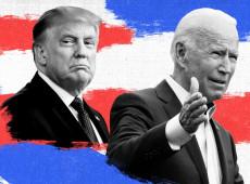 """""""O que estás ocultando?"""": Biden desafia Trump a tornar pública suas informações fiscais"""
