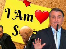 """Bolsonaro arrega, recorre a Temer, pede desculpas a Moraes e diz que nunca quis """"agredir"""" STF"""