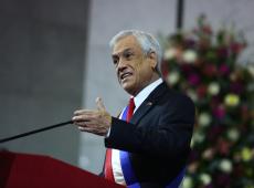 Chile: Em pouco mais de uma semana, reprovação a Piñera dispara e chega a 78%