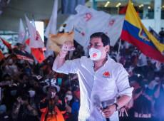 Eleição no Equador: Arauz chega ao 2º turno com apoios indígenas e de movimentos sociais