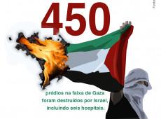Conde e Carvall: Score! 450 prédios destruídos na Faixa de Gaza