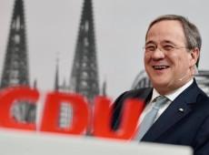 Alemanha: Aliado de Merkel vence eleição interna em partido e desponta como potencial chanceler