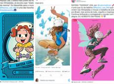 Embranquecimento de Rayssa em ilustrações está mais perto da supremacia branca do que podemos imaginar