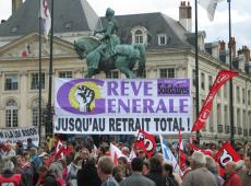 Milhares de franceses protestam contra reforma do sistema de aposentadorias
