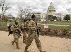 Posse de Biden terá ruas fechadas, muro em volta do Capitólio e Guarda Nacional