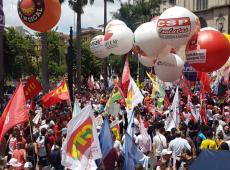 Trabalhadores vão às ruas e lançam assembleia nacional contra reforma da Previdência