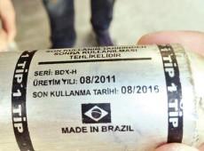 Gás lacrimogêneo brasileiro é usado contra manifestantes turcos, diz ONG
