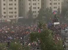 Chile: milhares vão às ruas em 9º dia de protestos consecutivos contra Piñera