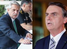 Coronavírus põe Alberto Fernández como antítese de Bolsonaro
