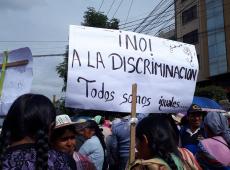 Bolívia: Mulheres marcham contra ataques discriminatórios da oposição