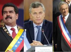 Presidentes do continente se manifestam após vitória de Bolsonaro; Macri pede que governos trabalhem juntos
