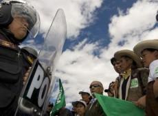 Greve geral contra mineração em região do Peru completa uma semana