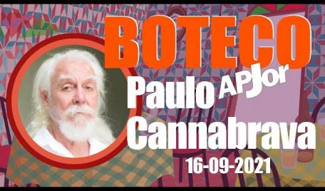 Boteco APJor recebe Paulo Cannabrava Filho