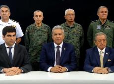 Acuado, presidente do Equador deixa Quito e transfere sede do governo para Guayaquil