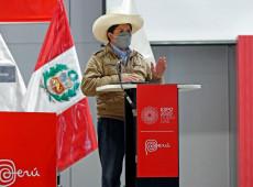 Peru: Pedro Castillo anuncia bônus, criação de empregos e produção de vacinas contra covid-19