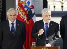 Piñera acusa golpe de imagen y pide auxilio a ONU por situación de derechos humanos
