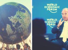 O futuro da humanidade entre dois fóruns: o social e o econômico, de Davos