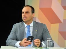 FNDC repudia declaração sobre AI-5 e pede que Câmara puna Eduardo Bolsonaro